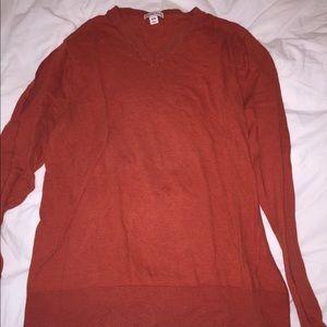 Orange long sleeve sweatshirt 🧡💛🧡